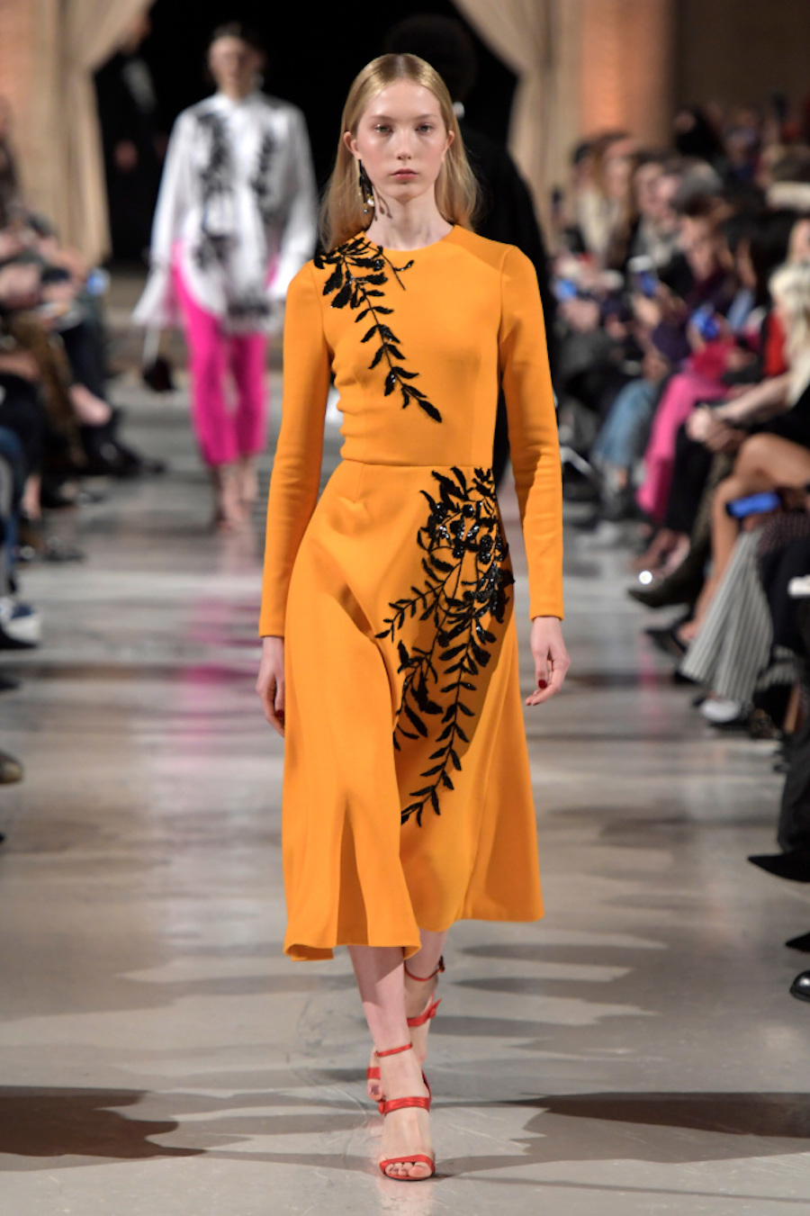 Yves St Laurent, Balmain, Oscar De La Renta, Tom Ford, New York Fashion Week 2018, Vivince, Fashion Watch
